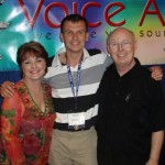 Penny, Andy, and James at VOICE 2010