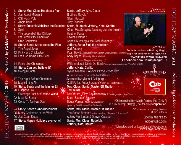 Holiday Magic CD