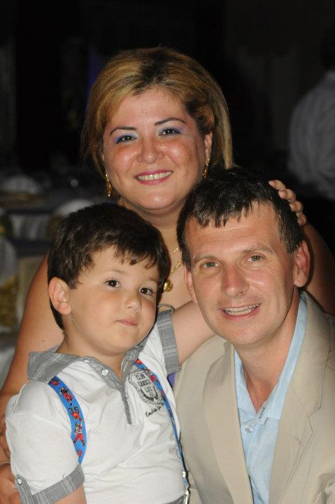 Ayşegül, William, and Andy Boyns