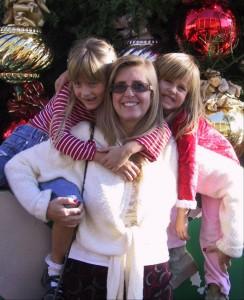 Sandra Swingler and the girls