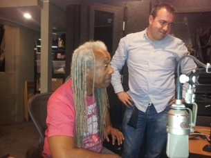 Dave Fennoy & Mehmet Onur check the edit