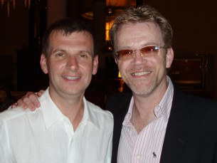 Andy and Scott at VOICE 2010